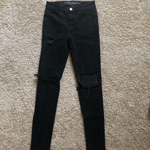 High rise super super stretch jeans